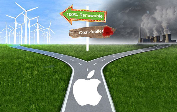"""Apple topped the ranking of the most """"green"""" of IT-companies according to Greenpeace"""
