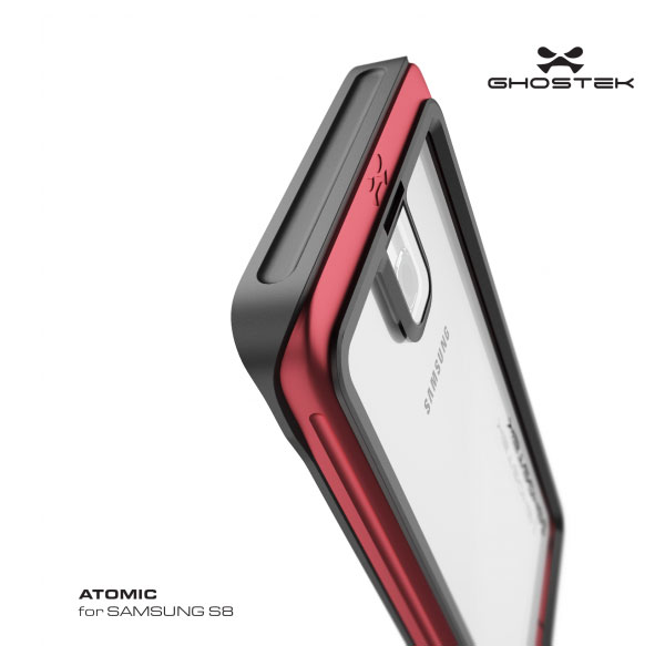 Case manufacturer has unveiled the design of the smartphone Samsung Galaxy S8