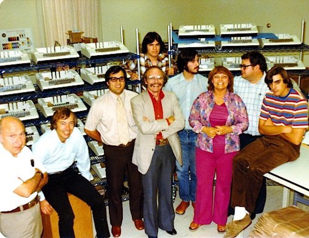 Looked like the first office of Apple Computer in the late 70-ies