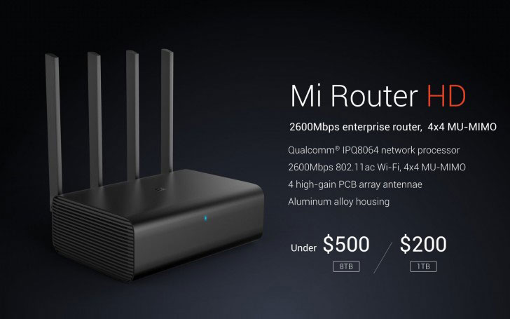 Xiaomi introduced the white version of the frameless smartphone Mix and Mi router Mi Router HD storage 8 TB