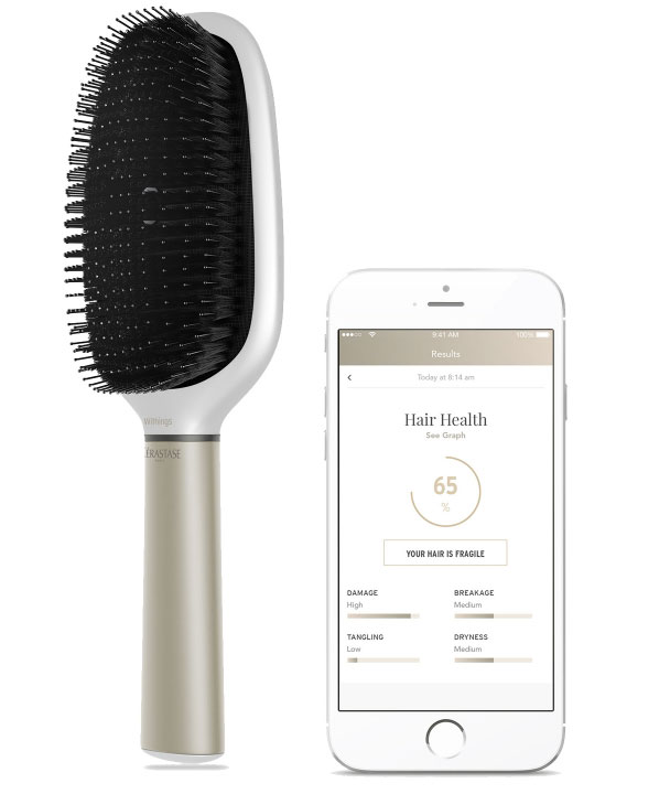 """At CES 2017 showed the world's first """"smart"""" comb [video]"""