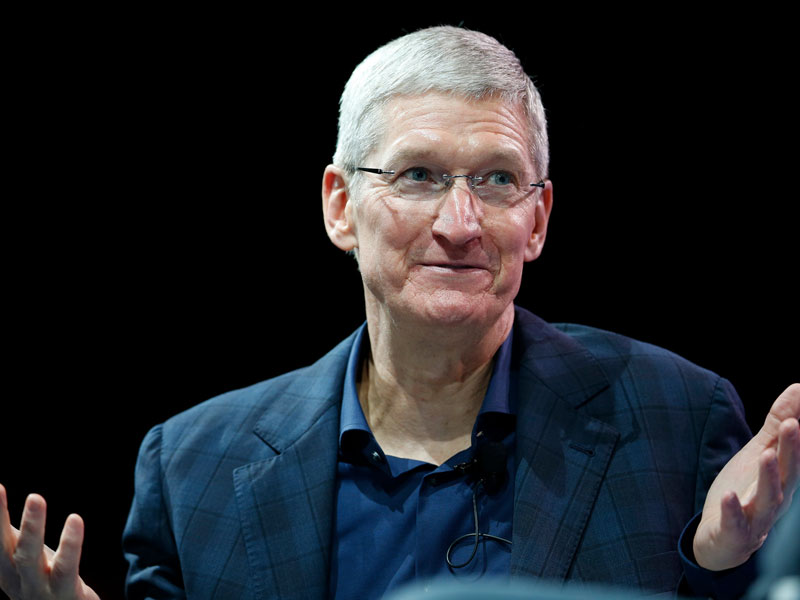 What silent Apple a record quarter of the company was for a week longer than usual