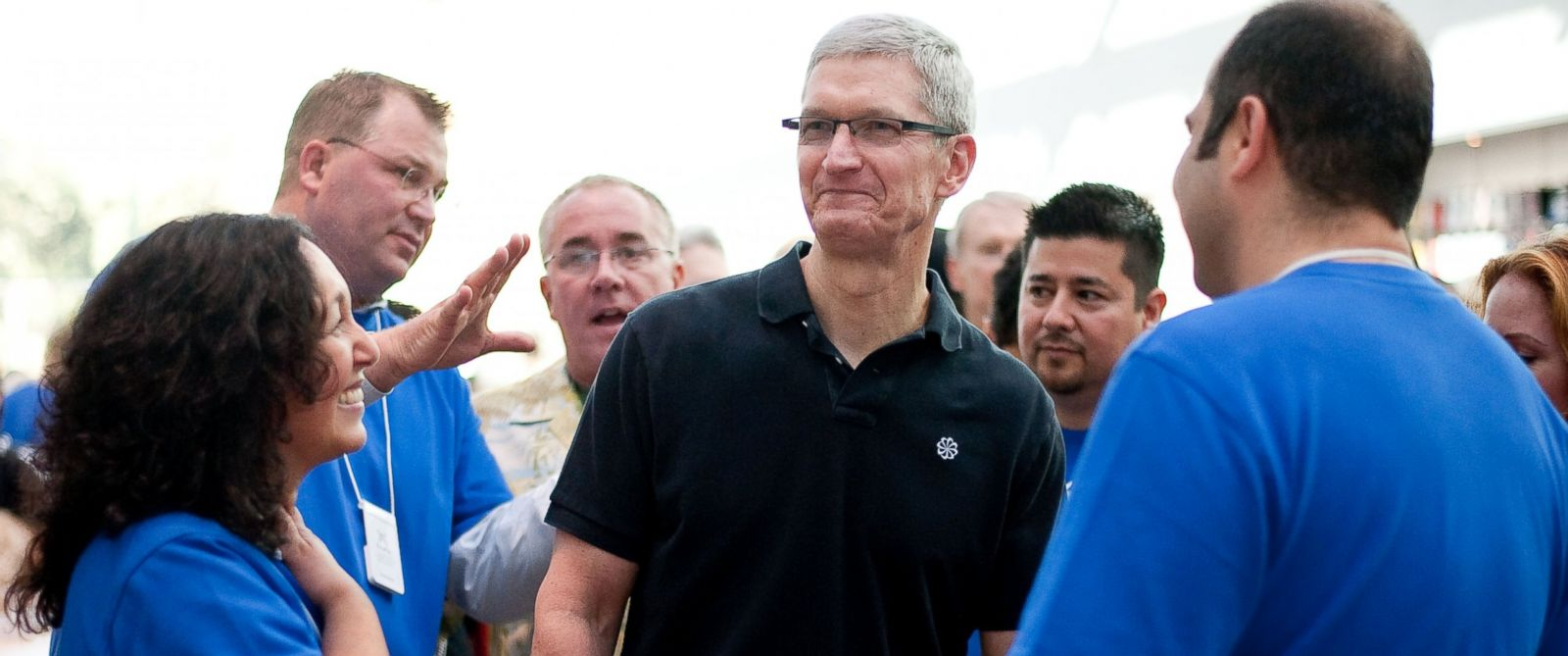 Apple came into open conflict with Donald trump