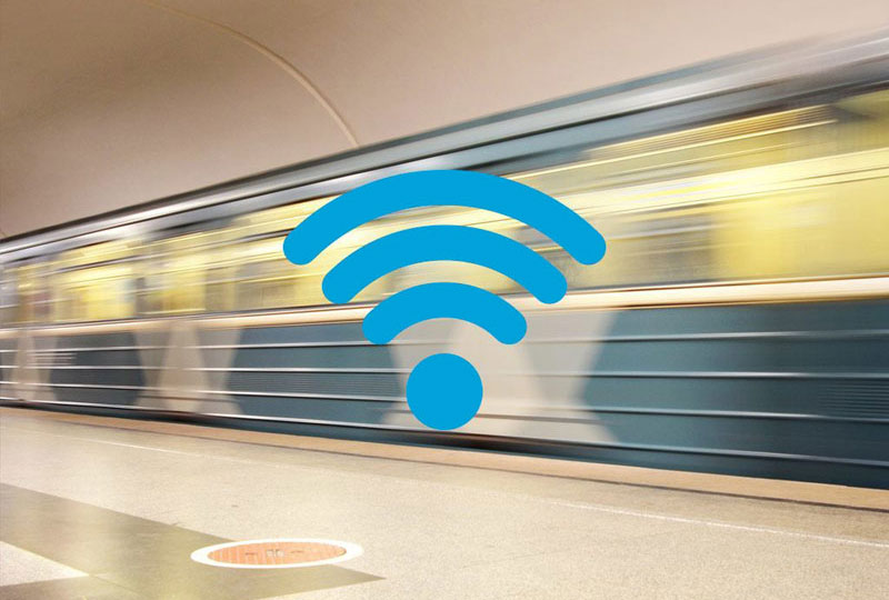 In metro St. Petersburg has launched free Wi-Fi