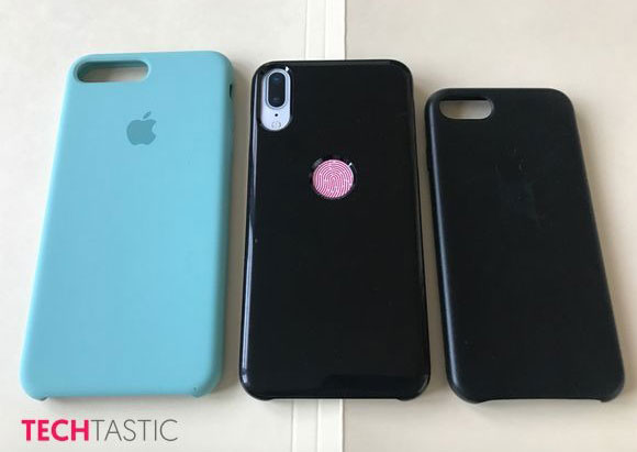The Chinese started production of cases for the iPhone 8 with a cutout for Touch ID on the rear panel