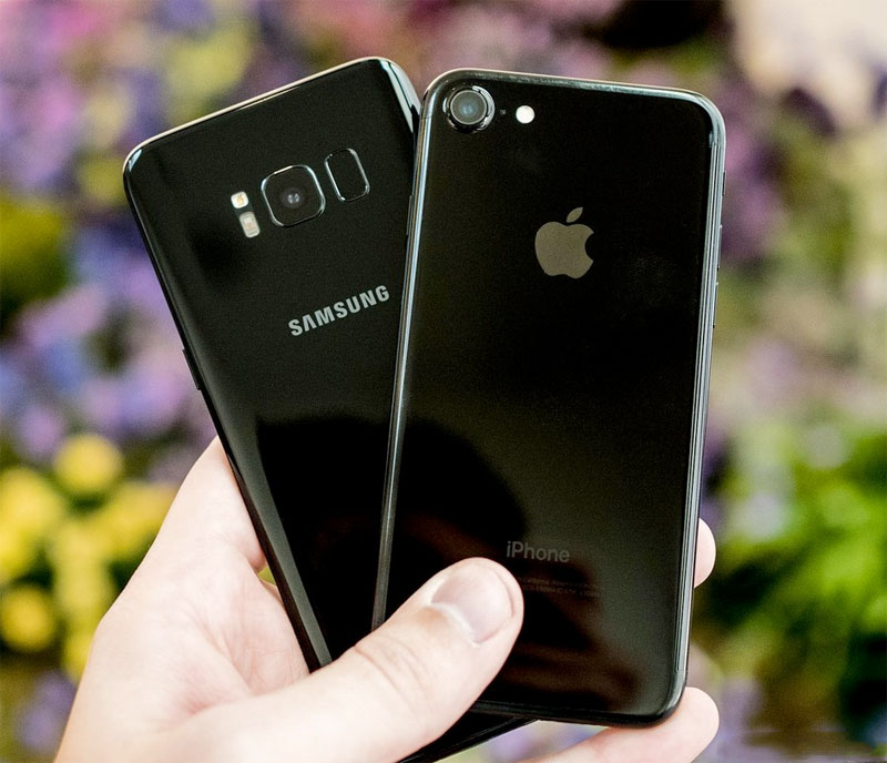 The Samsung Galaxy S8 is ahead of the iPhone 7 in the ranking of the best cameras on the version DxOMark