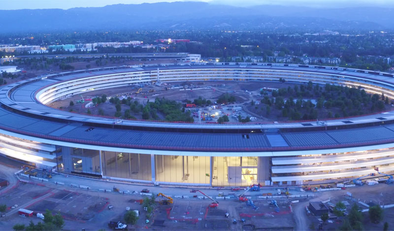 Video of the day: Apple Park at sunset