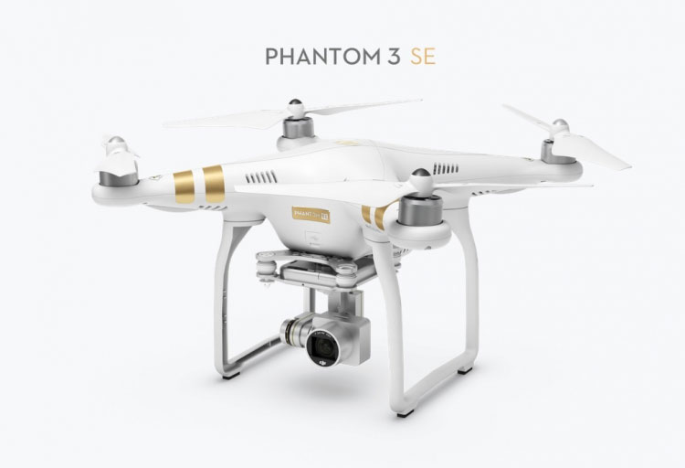 Where to buy drones DJI Phantom and DJI 3 SE Mavic Pro with a good discount