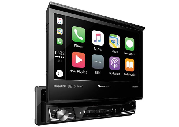 """Pioneer introduced the first in the industry """"odnotonovye"""" audio system with support for Apple CarPlay"""