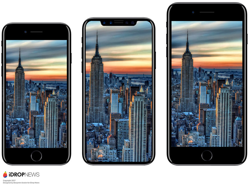 iPhone 8 vs iPhone 7 and Galaxy S8: the best in all senses