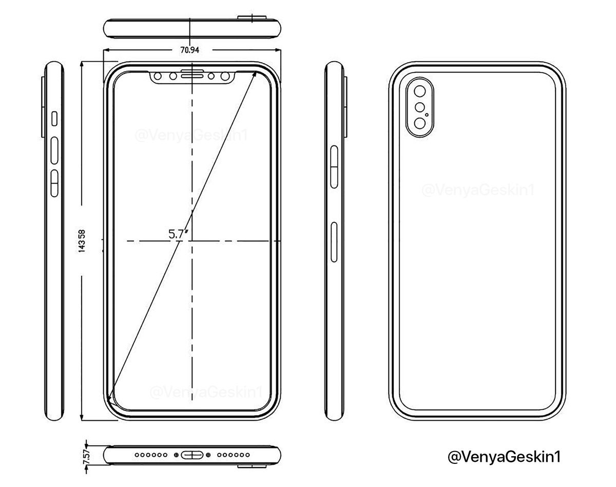 Digitimes: iPhone 8 will get an optical fingerprint scanner, a built-in OLED display smartphone