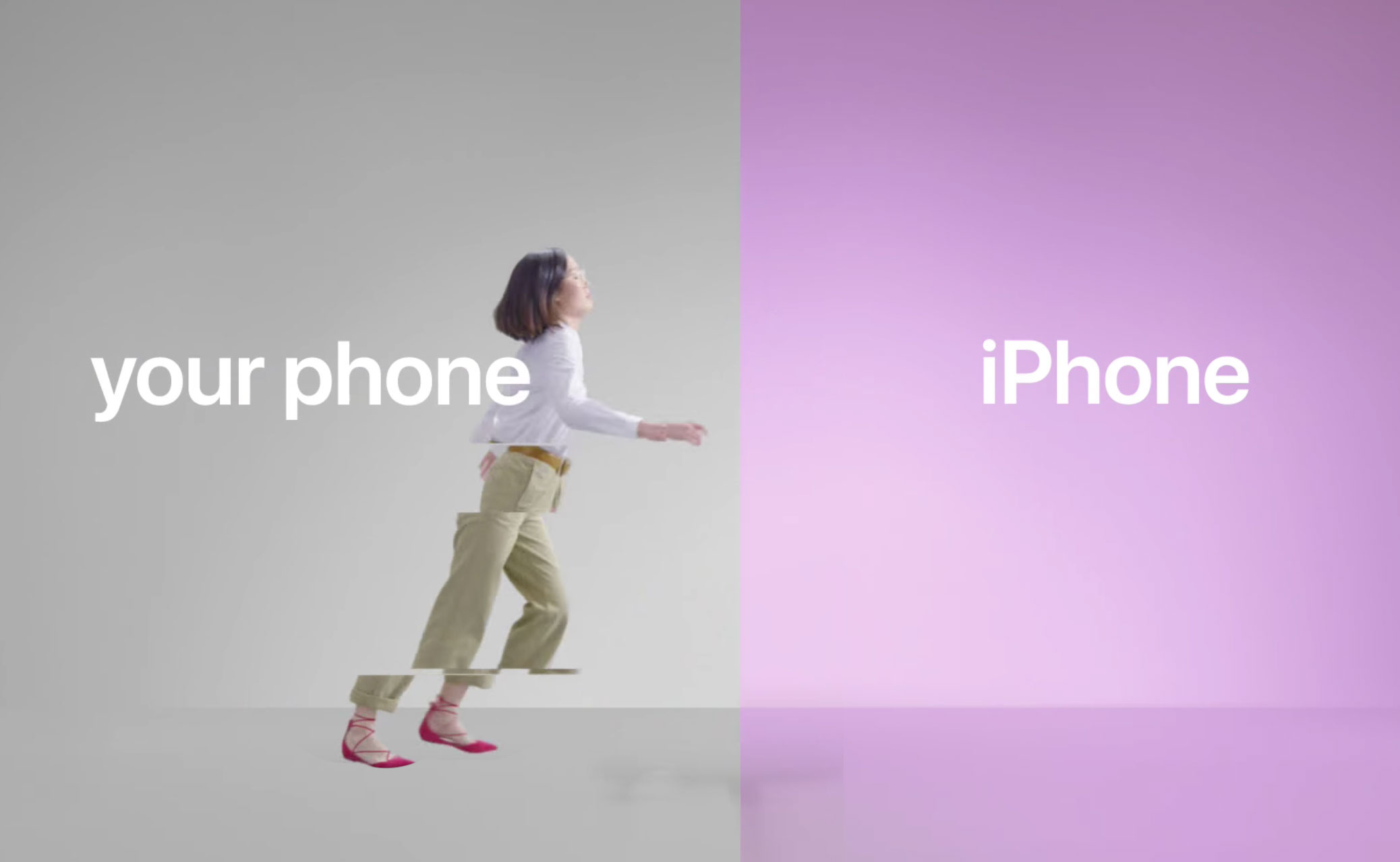 Apple has released three new videos which told about the benefits of iOS and the ease of transition to it with Android