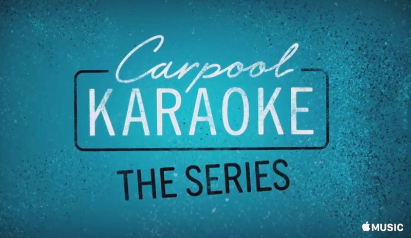 Apple called the release date of the new show Carpool Karaoke: The Series