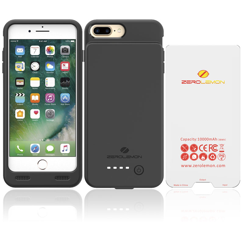 """ZeroLemon released the """"humpback"""" cover for iPhone 7 Plus with battery 10,000 mAh"""