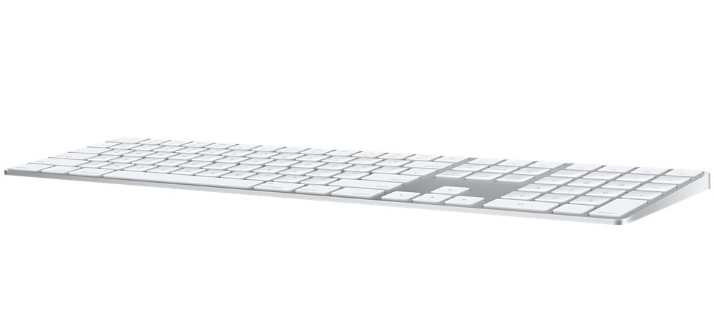 Apple releases wireless keyboard Magic Keyboard with numeric keypad for 9500 rubles
