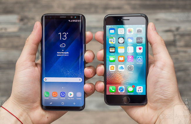 Samsung has launched in Russia trade-in: turn in your old iPhone and get a discount on the Galaxy S8