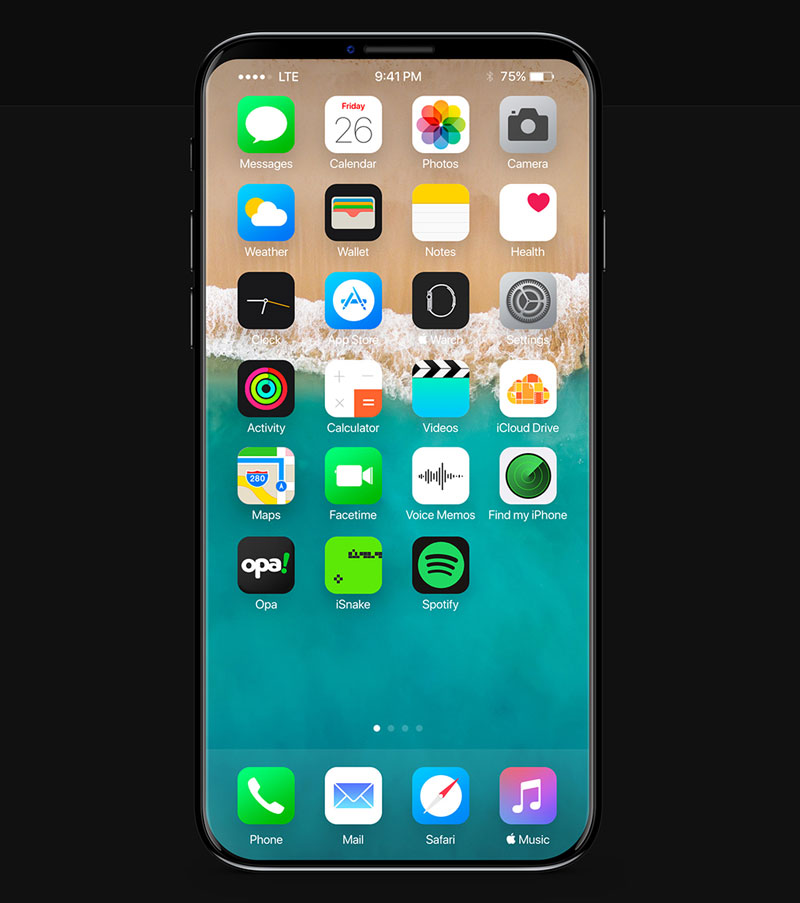 New concept shows iPhone jubilee 8 c of the ceramic body 11 and iOS [video]