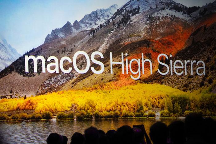 Apple introduced a new desktop platform macOS High Sierra