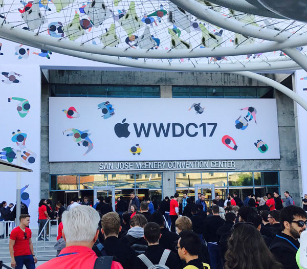 A student from Voronezh is the second time I went to WWDC in California