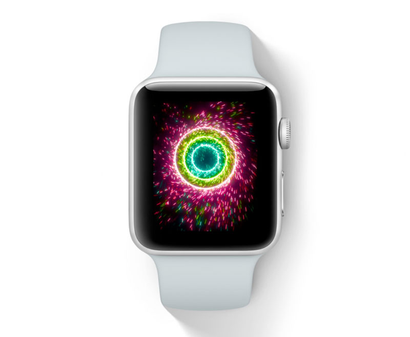 In 2018 will be the Apple Watch with the display micro-LED