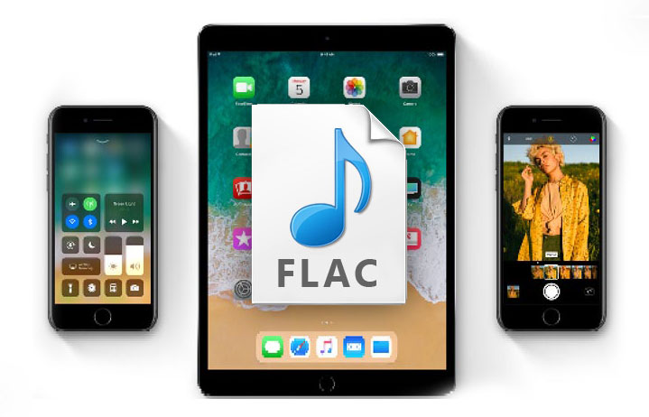 Apple added in iOS 11 native support for the FLAC format