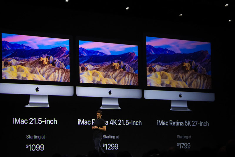 Apple showed the new iMac with improved displays and processors Intel Kaby Lake