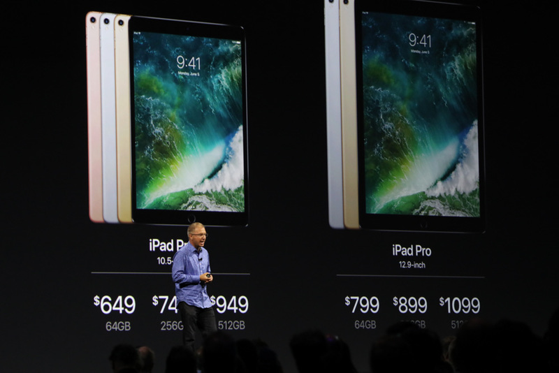 Apple has officially unveiled new 10.5-inch iPad Pro
