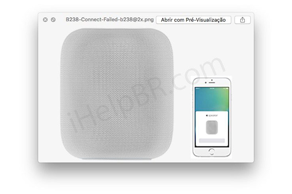 In the latest beta of iOS found the process of connecting HomePod