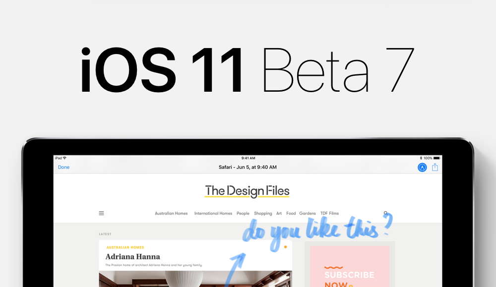 Apple released iTunes 11 beta 7 for iPhone, iPod touch and iPad