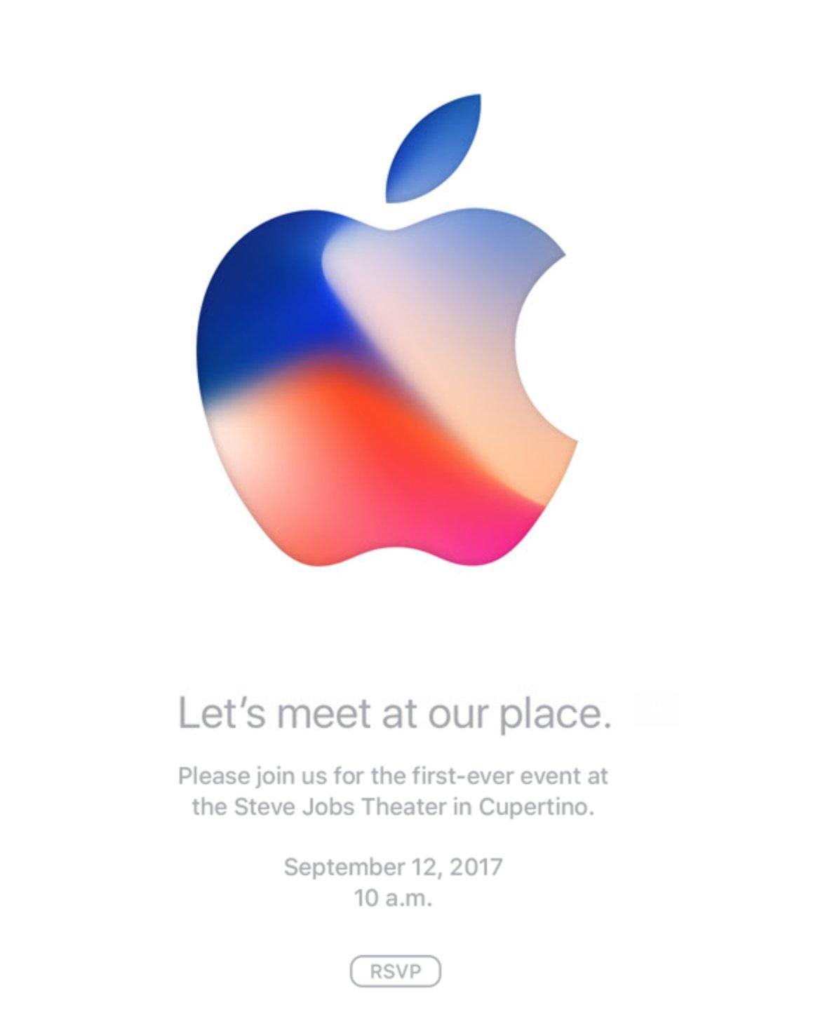 See you September 12, iPhone 8!