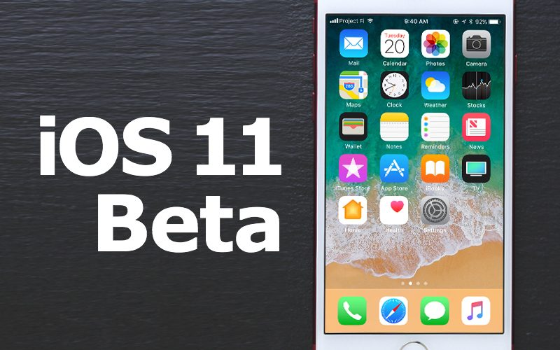 Released the ninth beta 11 iOS for iPhone and iPad