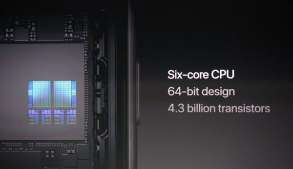 The processor Apple A11 illustrates the company's approach to augmented reality