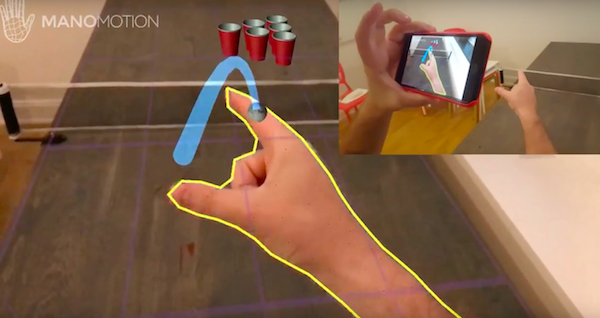 "Now virtual reality can play ""beerpong"""