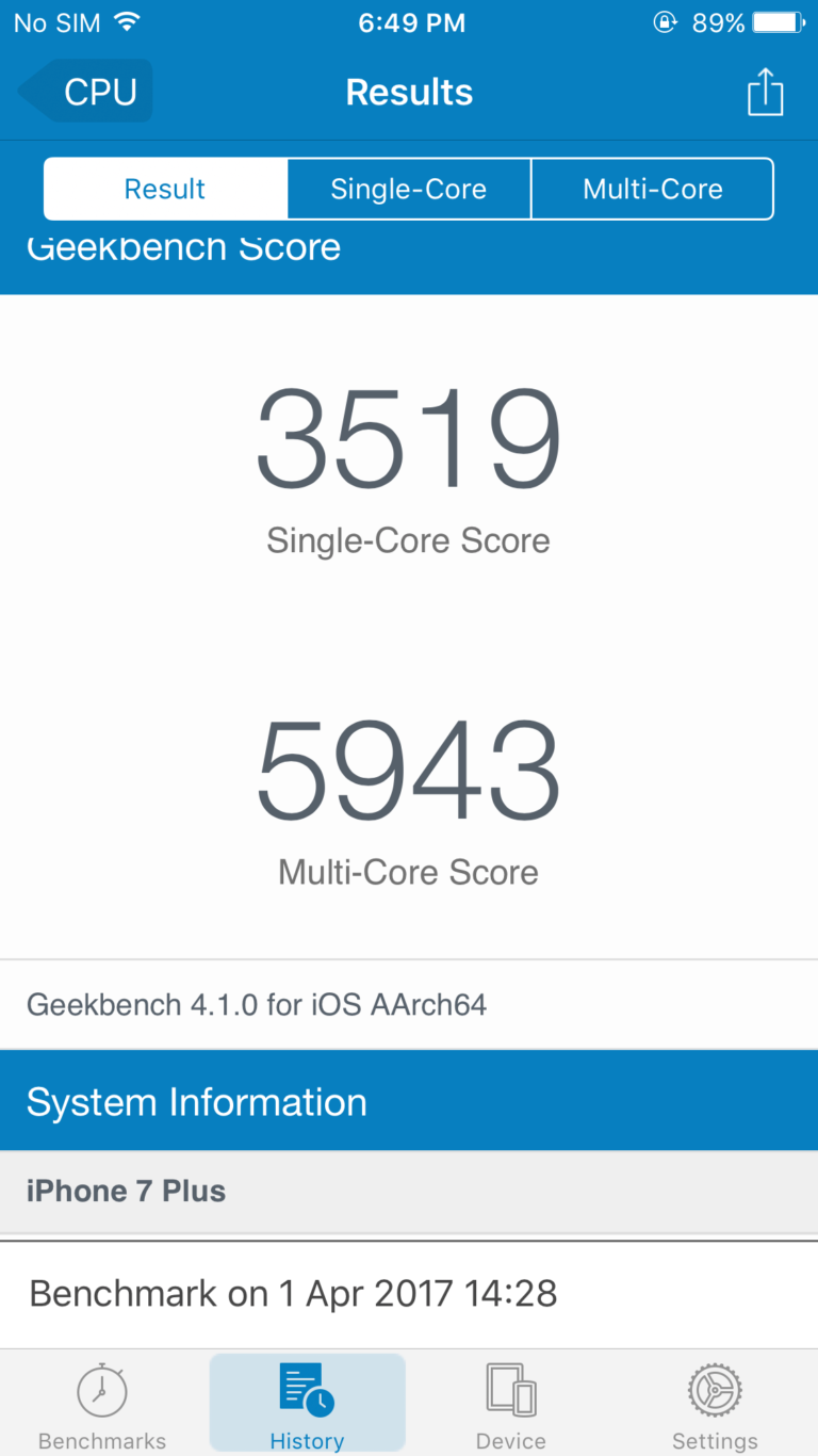 The network leaked the results of benchmark iPhone with a chip A11