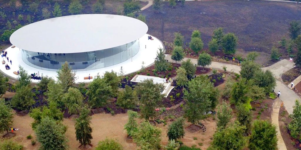 "As a ""Theatre of a name of Steve jobs"" looks like from the inside?"
