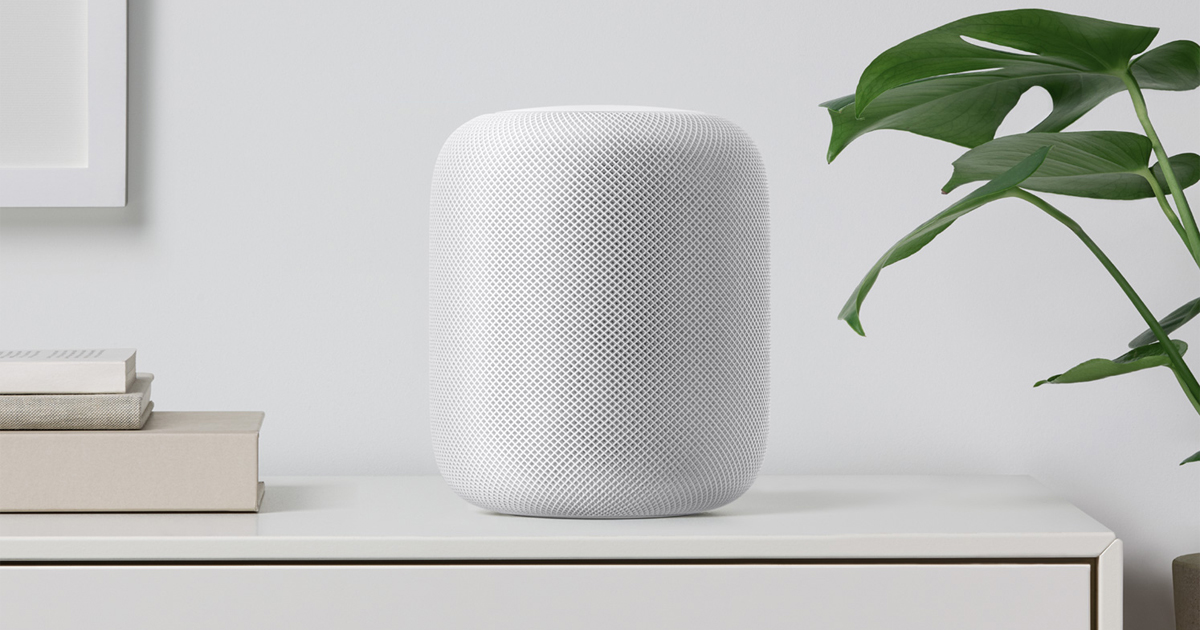 HomePod appeared online three months before the official release