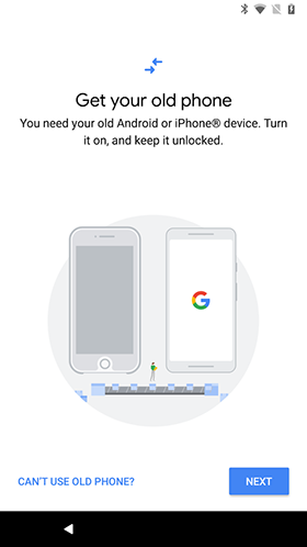 Google has released an application for migration on Pixel 2