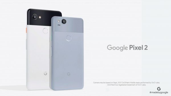 Google introduced the Pixel 2 and Pixel 2 XL