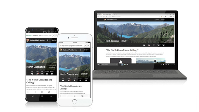 Edge browser will appear on the iPhone