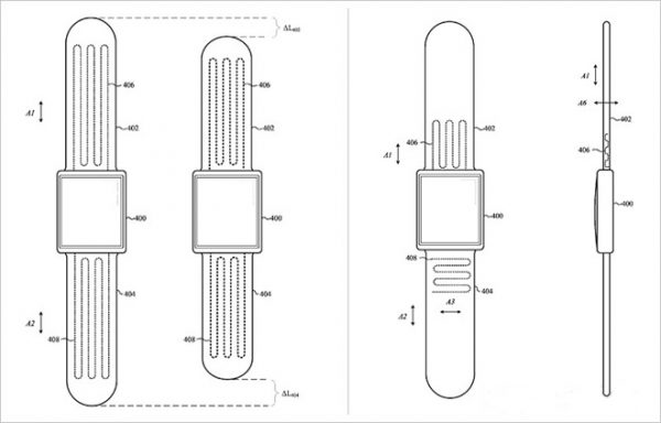 Apple is developing a self-adjusting straps for Apple Watch