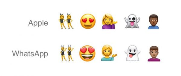WhatsApp got its own emojis copied from Apple