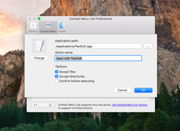 """How to add the option """"Open with..."""" in any application on your MacBook"""