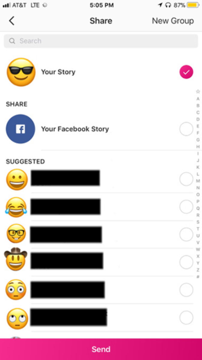 Instagram Stories can now be shared in Facebook