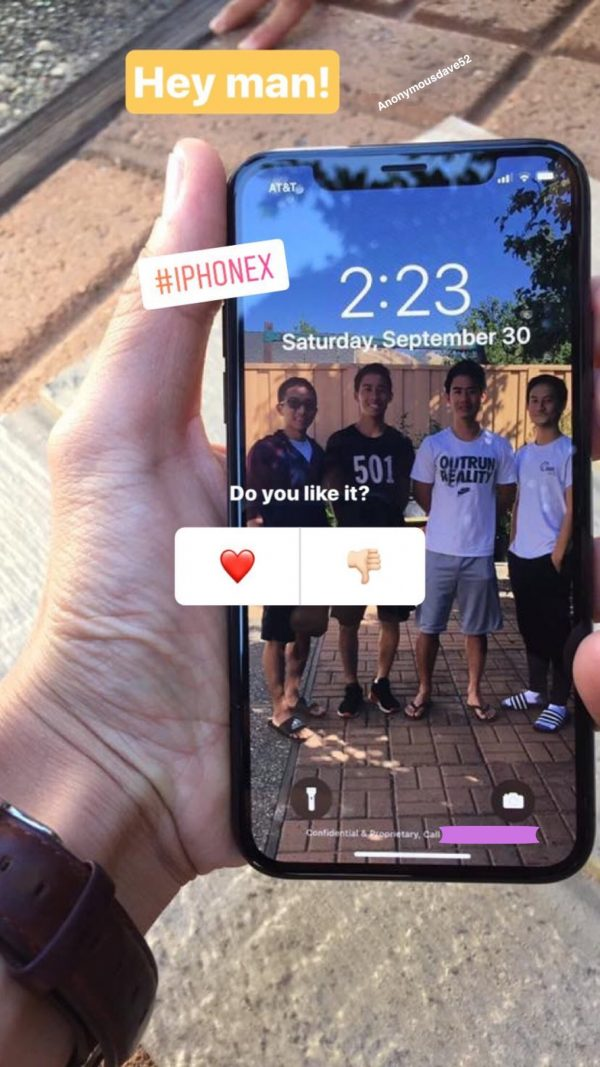 In the network there are new photos of the iPhone X
