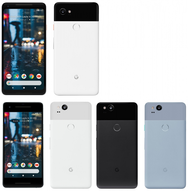 In the network leaked pictures of the new smartphone Google