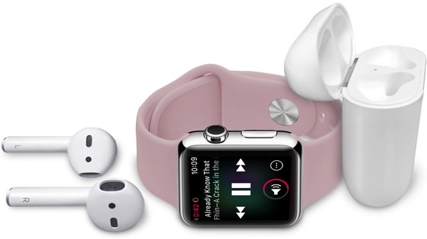 Apple suppliers expect increased sales AirPods and Apple Watch Series 3 to the end of the year