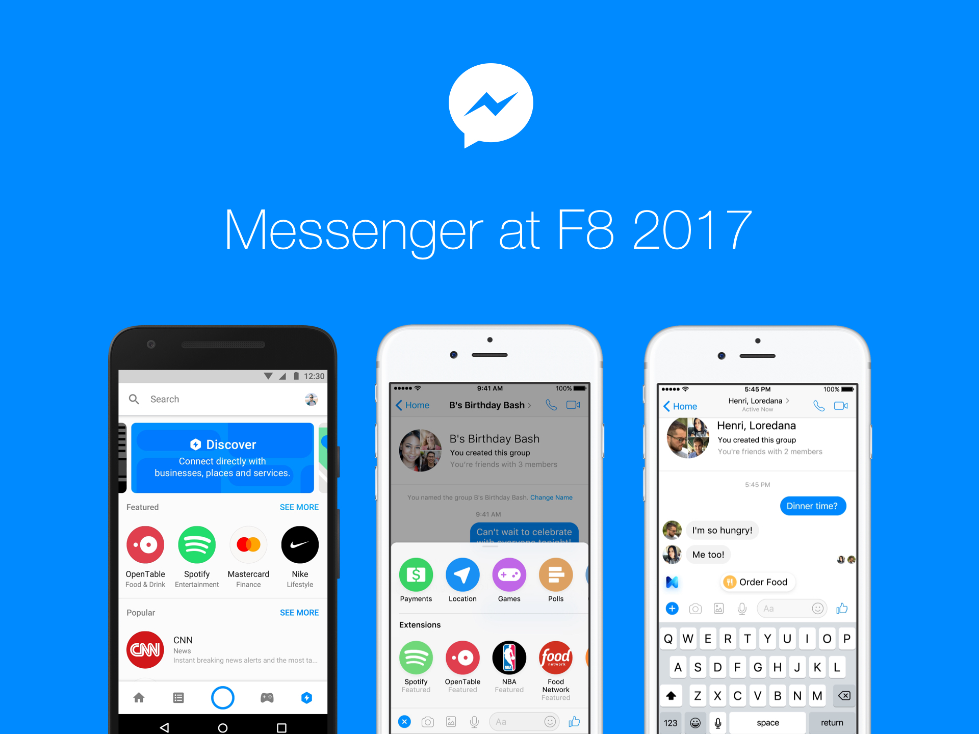 Facebook Messenger has received the support of Apple Music