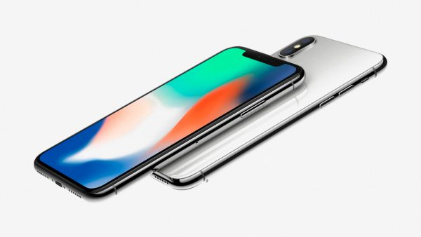 iPhone X with the new dynamic Wallpapers light up on the video