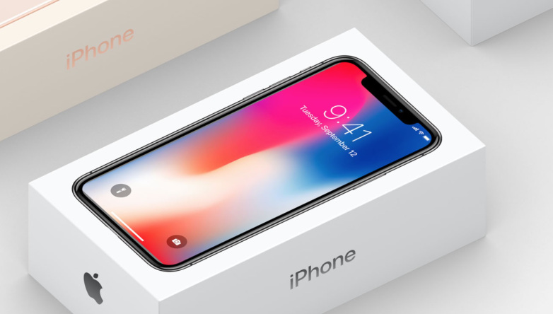 Apple showed the iPhone X packing a month before the start of sales