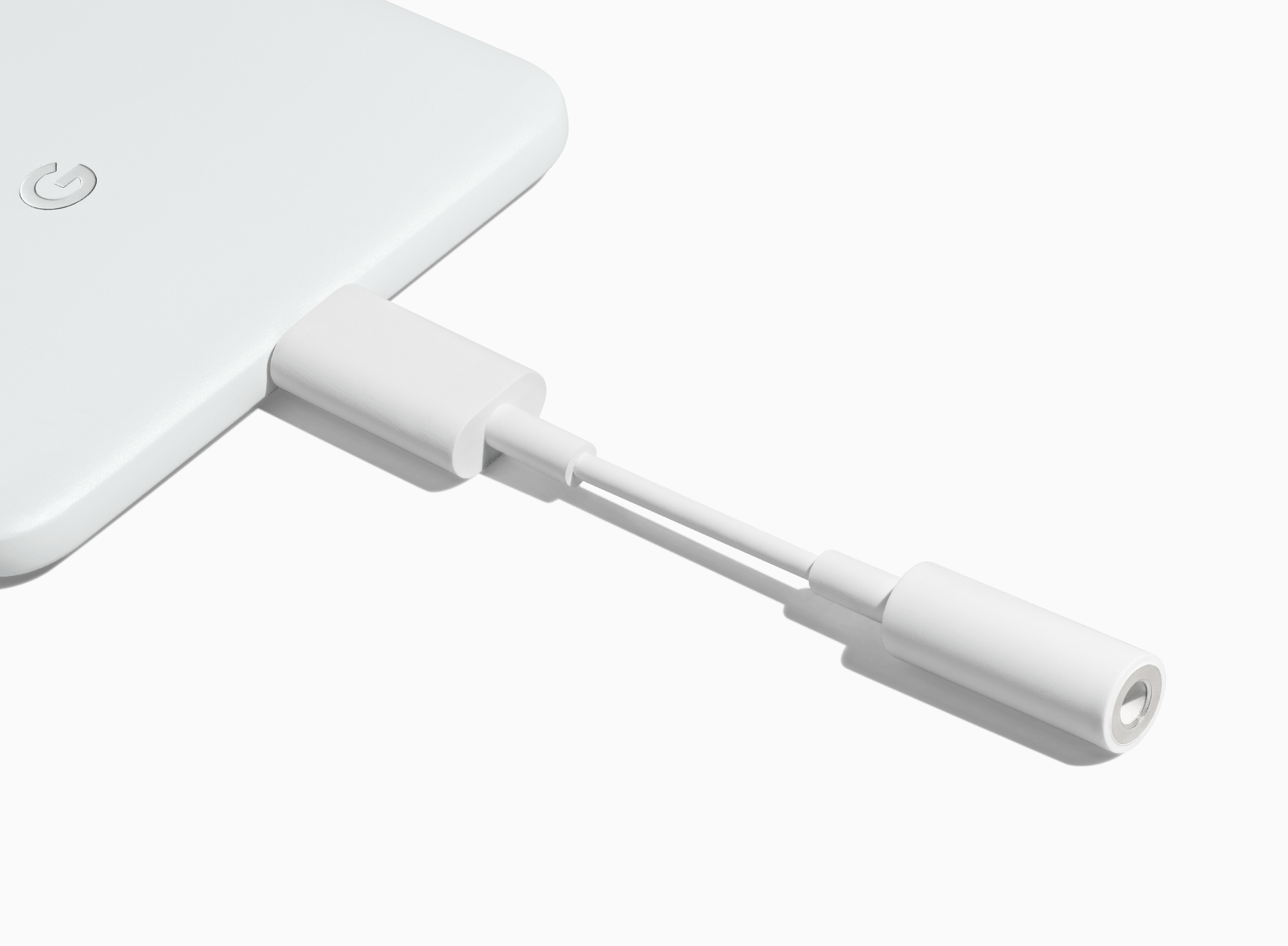 "Google started selling the adaptors with USB-C on ""mini-Jack"""